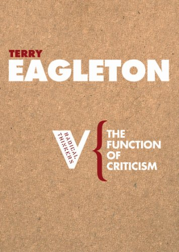Function of Criticism   2006 edition cover