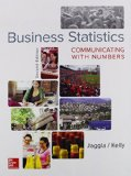 Business Statistics: Communicating With Numbers  2015 edition cover
