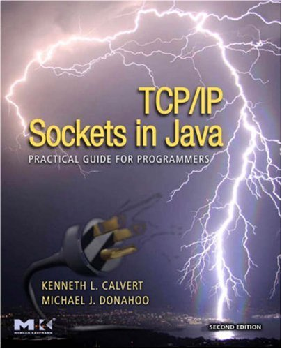 TCP/IP Sockets in Java Practical Guide for Programmers 2nd 2008 edition cover