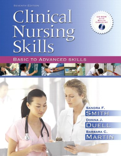 Clinical Nursing Skills Basic to Advanced Skills 7th 2008 edition cover