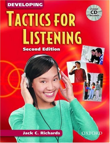 Developing Tactics for Listening  2nd 2003 edition cover