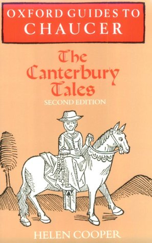 Oxford Guides to Chaucer - The Canterbury Tales  2nd 1996 (Revised) edition cover
