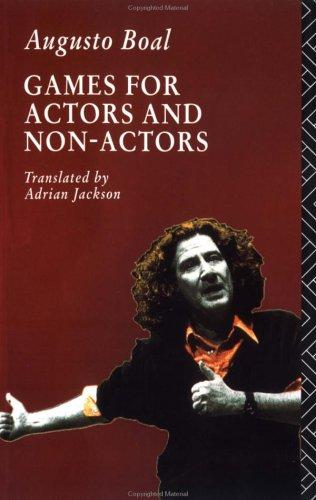 Games for Actors and Non-Actors   1992 (Reprint) edition cover