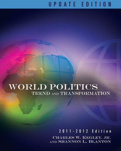 World Politics Trends and Transformations, 2011-2012 13th 2012 (Revised) edition cover