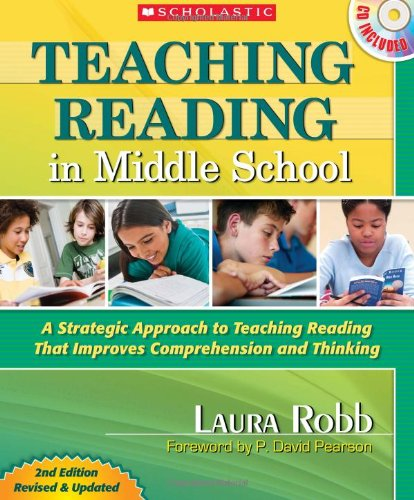 Teaching Reading in Middle School A Strategic Approach to Teaching Reading That Improves Comprehension and Thinking 2nd edition cover