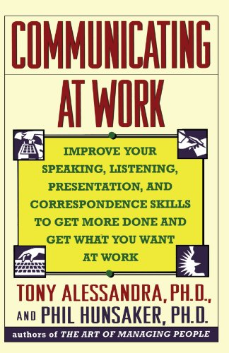 Communicating at Work   1993 edition cover