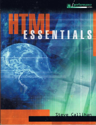 HTML Essentials  2003 9780763816551 Front Cover