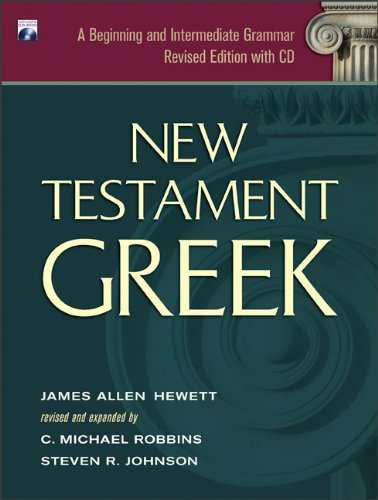 New Testament Greek A Beginning and Intermediate Grammar Revised  edition cover