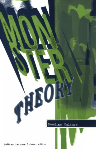 Monster Theory Reading Culture N/A edition cover