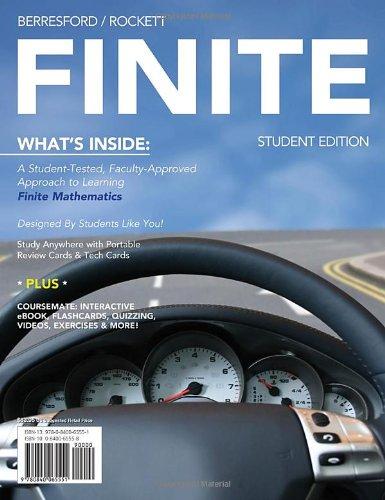 Finite   2012 9780840065551 Front Cover