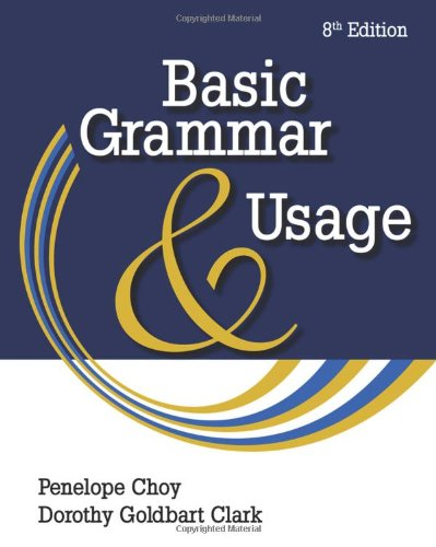 Basic Grammar and Usage  8th 2011 edition cover