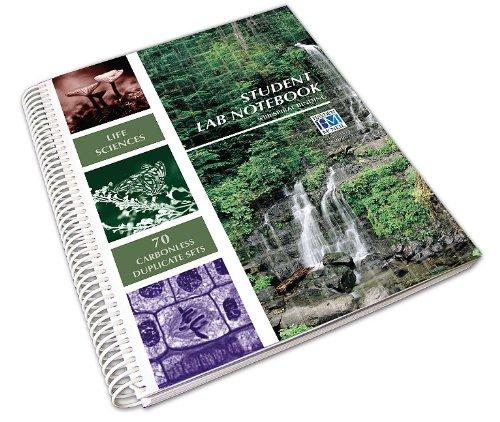 Hayden-McNeil Life Sciences Lab Notebook (Spiral Side Bound 70 Set) N/A edition cover