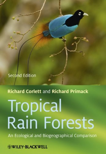 Tropical Rain Forests An Ecological and Biogeographical Comparison 2nd 2011 edition cover