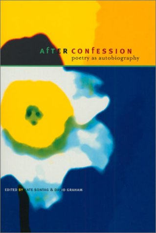 After Confession Poetry as Autobiography  2001 edition cover