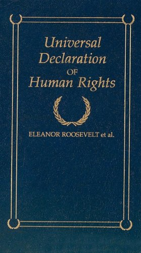 Universal Declaration of Human Rights  N/A 9781557094551 Front Cover