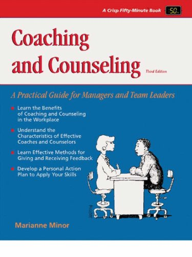 Coaching and Counseling A Practical Guide for Managers and Team Leaders 3rd 2002 edition cover