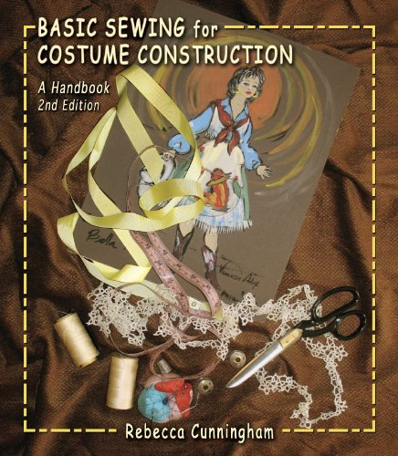 Basic Sewing for Costume Construction  2nd 2011 edition cover