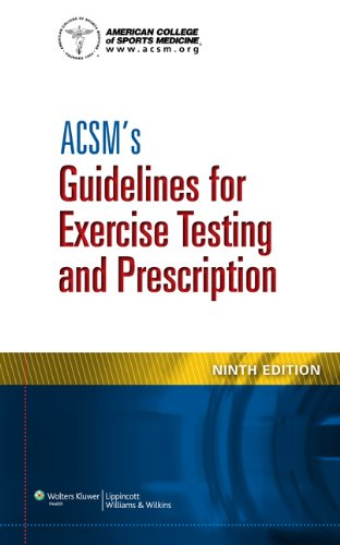 ACSM's Guidelines for Exercise Testing and Prescription  9th 2014 (Revised) 9781609139551 Front Cover