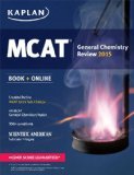 Kaplan MCAT General Chemistry Review Created for MCAT 2015 Revised edition cover