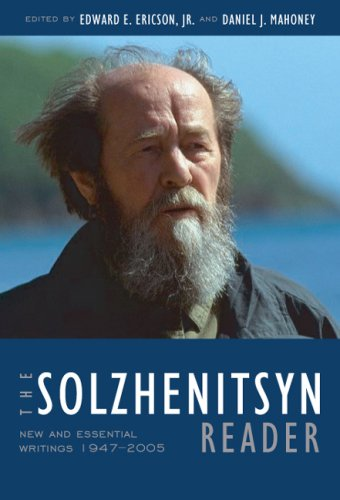 Solzhenitsyn Reader New and Essential Writings, 1947-2005  2009 edition cover