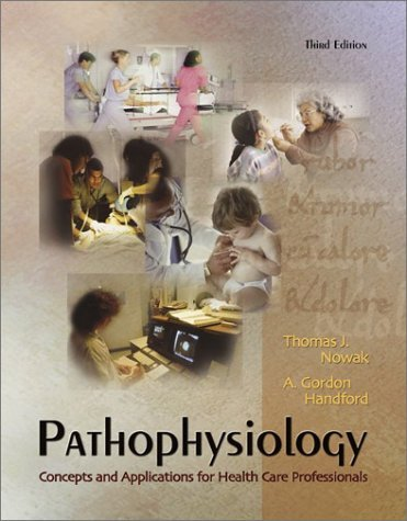 Pathophysiology Concepts and Applications for Health Care Professionals 3rd 2004 (Revised) 9780070272552 Front Cover