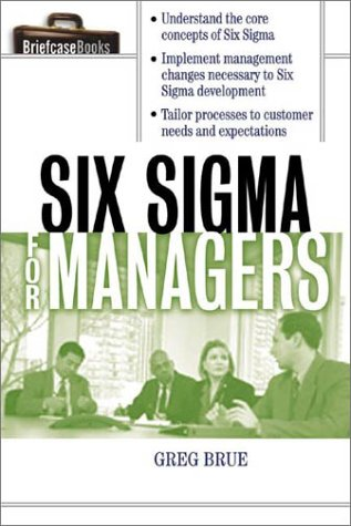 Six Sigma for Managers   2002 9780071387552 Front Cover