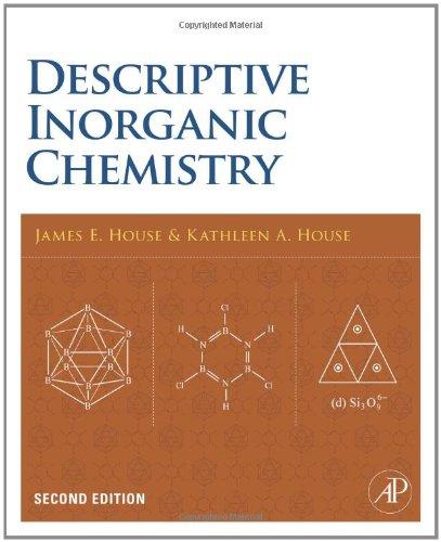 Descriptive Inorganic Chemistry  2nd 2010 edition cover
