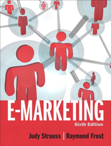 E-Marketing  6th 2011 (Revised) 9780132147552 Front Cover