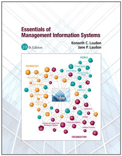 Essentials of MIS  10th 2013 (Revised) edition cover