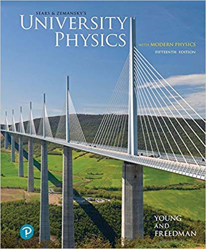 University Physics with Modern Physics  15th 2020 9780135159552 Front Cover