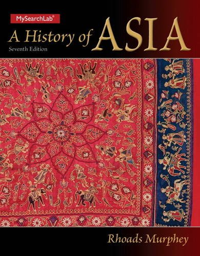 History of Asia  7th 2013 (Revised) edition cover