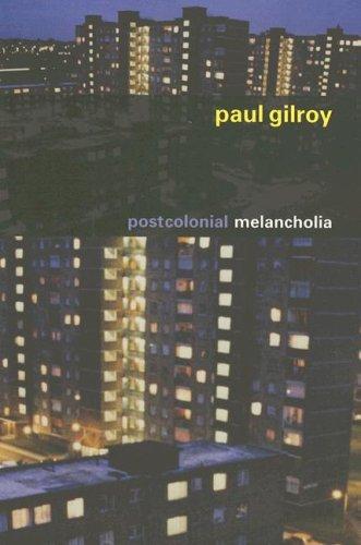 Postcolonial Melancholia   2006 edition cover