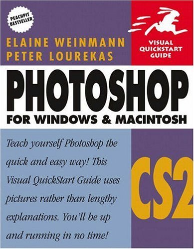 Photoshop CS2 for Windows and Macintosh Visual QuickStart Guide  2005 9780321336552 Front Cover