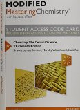 Chemistry The Central Science 13th 2015 edition cover