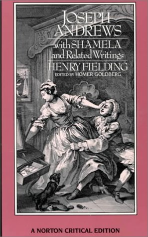 Joseph Andrews with Shamela and Related Writings   1987 edition cover