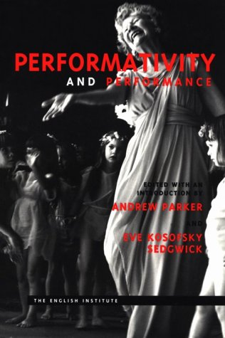 Performativity and Performance   1996 edition cover