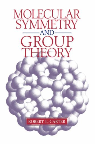 Molecular Symmetry and Group Theory  1st 1998 edition cover