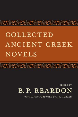 Collected Ancient Greek Novels  2nd 2008 edition cover