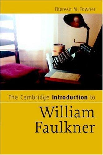 Cambridge Introduction to William Faulkner   2008 edition cover