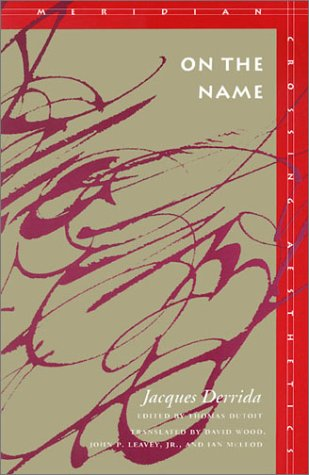 On the Name   1995 edition cover