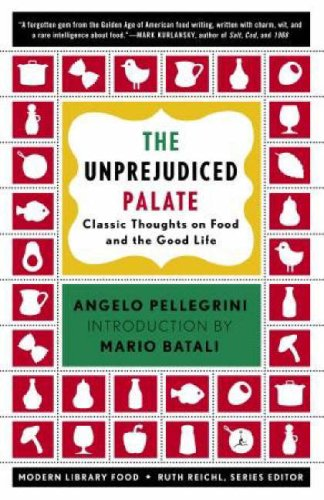 Unprejudiced Palate Classic Thoughts on Food and the Good Life  2005 edition cover