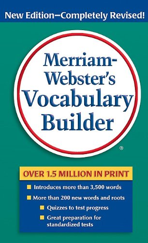 Merriam-Webster's Vocabulary Builder  2nd 2010 9780877798552 Front Cover