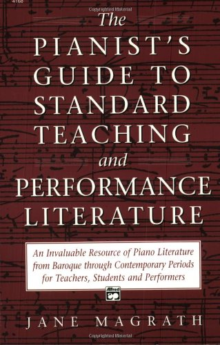 Pianists Guide to Standard Literature   1995 edition cover