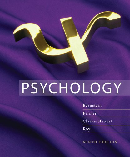 Psychology  9th 2012 edition cover