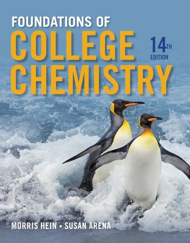 Foundations of College Chemistry  14th 2014 edition cover