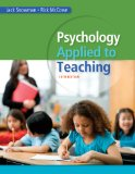 Psychology Applied to Teaching:   2014 9781285734552 Front Cover