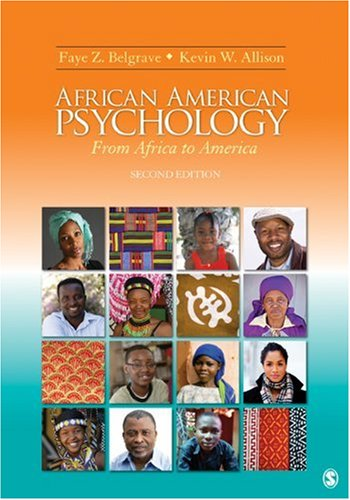 African American Psychology From Africa to America 2nd 2010 edition cover