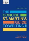 The Concise St. Martin's Guide to Writing:   2014 edition cover
