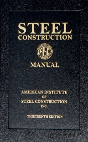 Steel Construction Manual, 13th Edition  13th 2005 edition cover