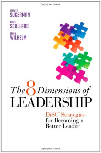 8 Dimensions of Leadership Disc Strategies for Becoming a Better Leader  2011 edition cover